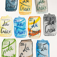 La Croix Print - Rejected Flavors