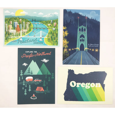 Oregon Rise Postcard Set