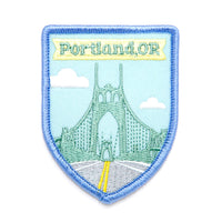 St. Johns Bridge patch
