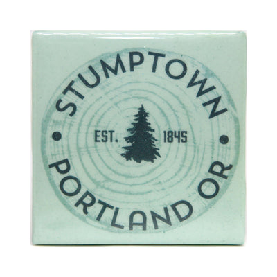 Stumptown Pine State Oregon Coaster