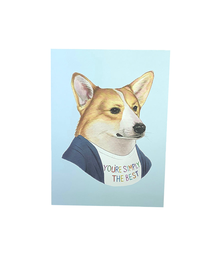 Best Corgi Card