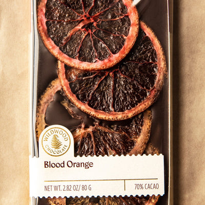 Blood Orange Chocolate Bar