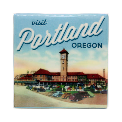 Union Station Portland coaster