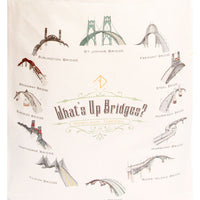 What's Up Bridges Tote Bag