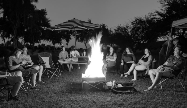 Gearinstitute.com Product Review on the Pop-Up Fire Pit: By Dan Nelson