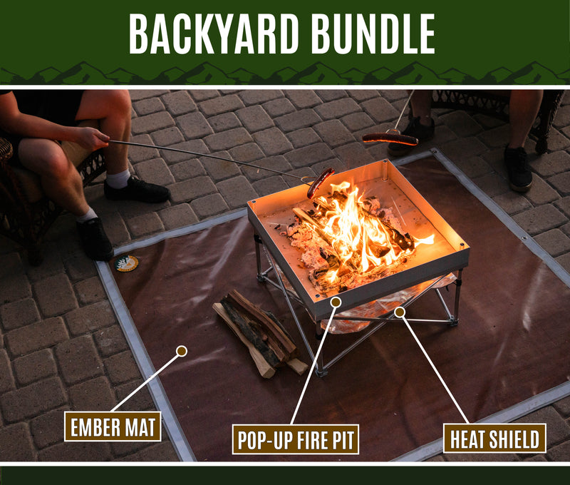 Backyard Fire Pit Bundle
