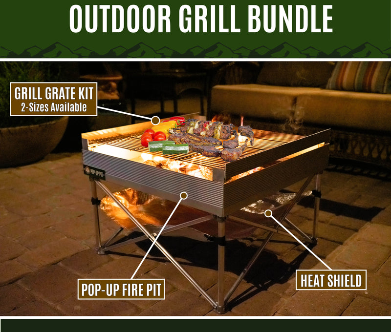Outdoor Grill Bundle
