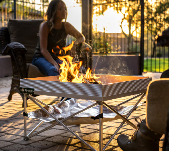 Pop-Up Fire Pit - Go Anywhere Kit