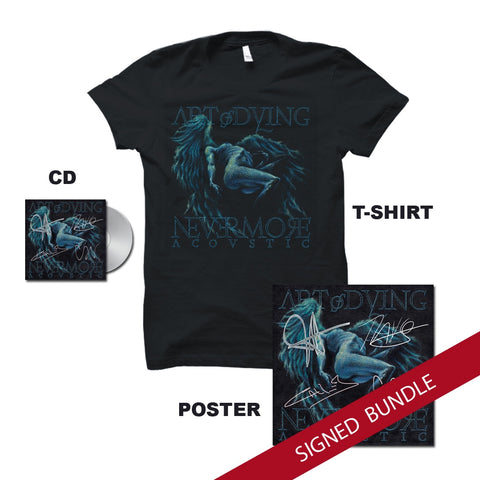 Nevermore bundle (signed CD,poster)