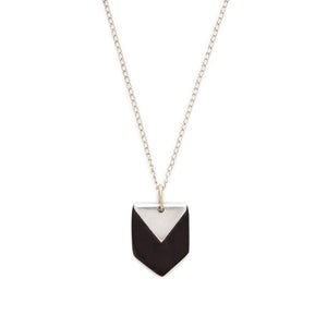 Chevron Bone Necklace