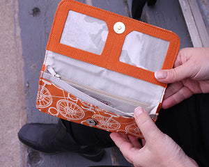 inside view of wallet