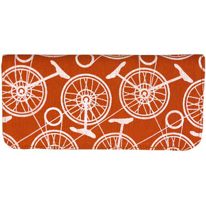 unicycle print wallet