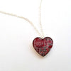 Circuit Board Heart Necklace