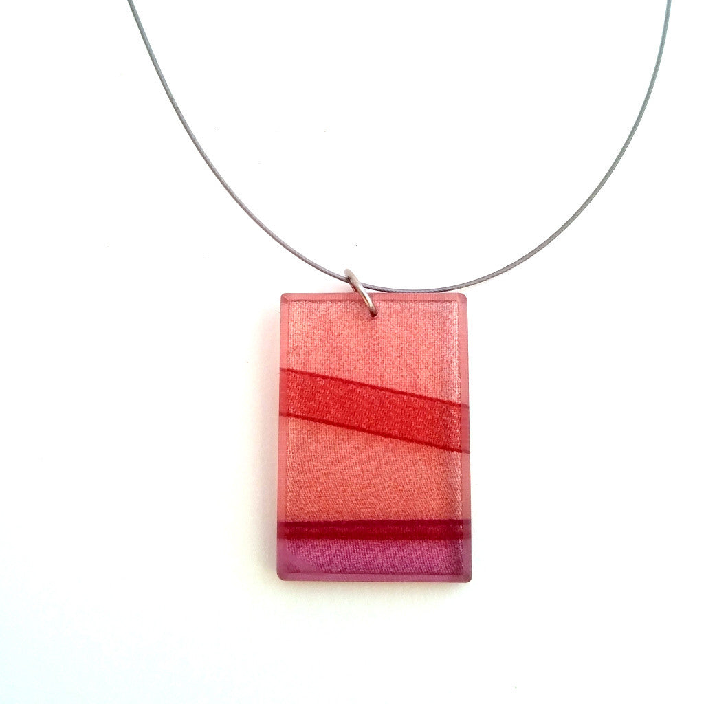 Mirage Claret Necklace