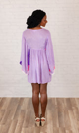 """See You In Saint Lucia"" Dress - Lavender Mix"