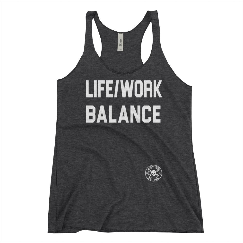 FORGET THE WORK/LIFE BALANCE