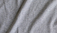 Ably men's apparel v-neck tee color swatch Heather gray.