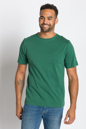 Bradley | Crew Neck Pocket Tee