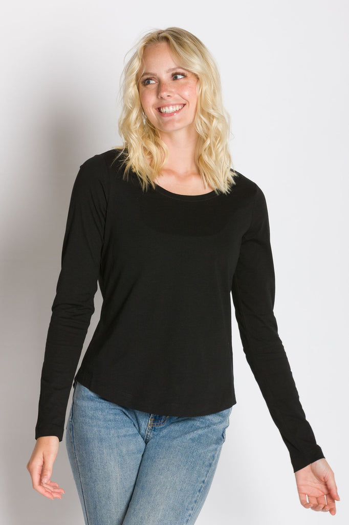 Pamela | Women's Long Sleeve Crew Neck