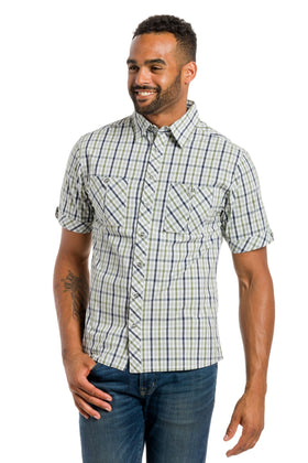 Drifter | Men's Button Up Short Sleeve Shirt