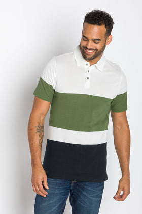 Odessy | Men's Striped Polo