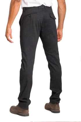 Klondike | Casual Twill Cotton Pant With Print
