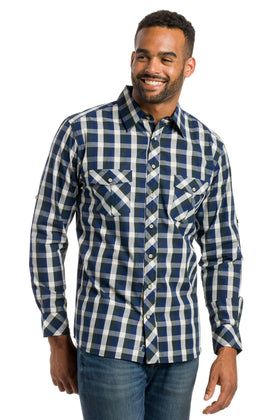 Utopia | Men's Long Sleeve Button Up Shirt