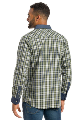 York | Long Sleeve Shirt With Trim
