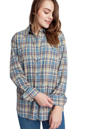 Angelina | Flannel Shirt