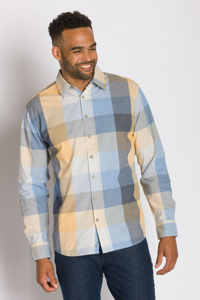 Wyatt | Men's Long Sleeve Woven Shirt