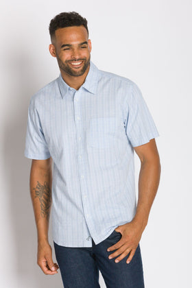 Jesse | Short Sleeve Button-Up Shirt