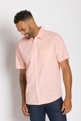 Jesse | Men's Short Sleeve Button-Up Shirt