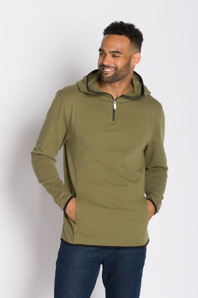 Cooper | Men's Lightweight French Terry Scuba Hoodie