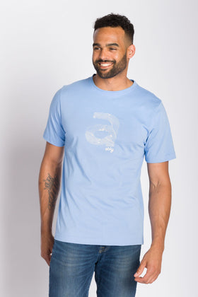 Topographical A | Imprinted T-Shirt
