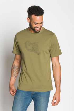 Topo Mountain |  Ably Imprinted T-Shirt