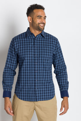 Thomas | Men's Cotton Long Sleeve Shirt