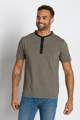 Trekker |  Men's Short Sleeve Grindle Jersey Henley