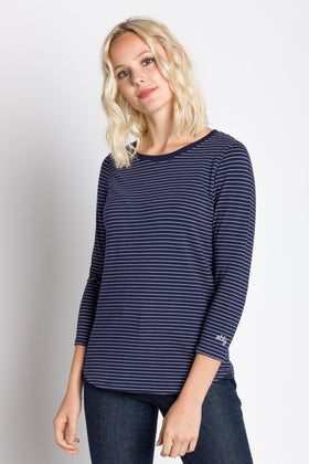 Rosette | Women's 3/4 Sleeve Cotton/Modal Top