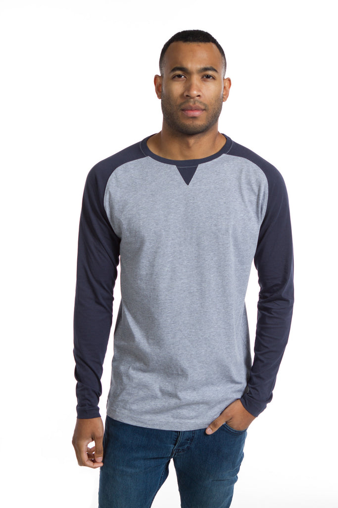 Ronald | Men's Color Block Crew Neck