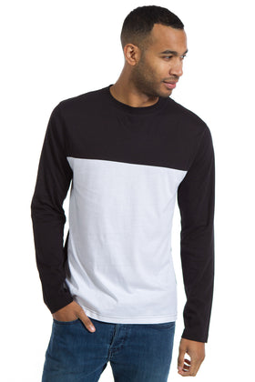 Travis | Men's Color Block Crew Neck