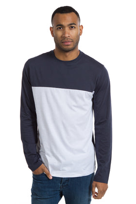 Travis | Color Block Crew Neck