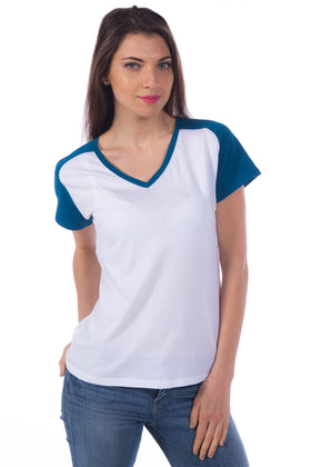 Kimberly | Women's Color Blocked V-neck