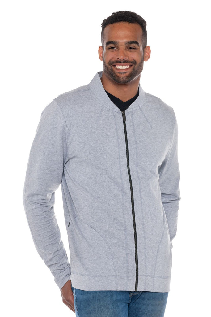 Ruffus | Men's Full Zip Lightweight French Terry Jacket