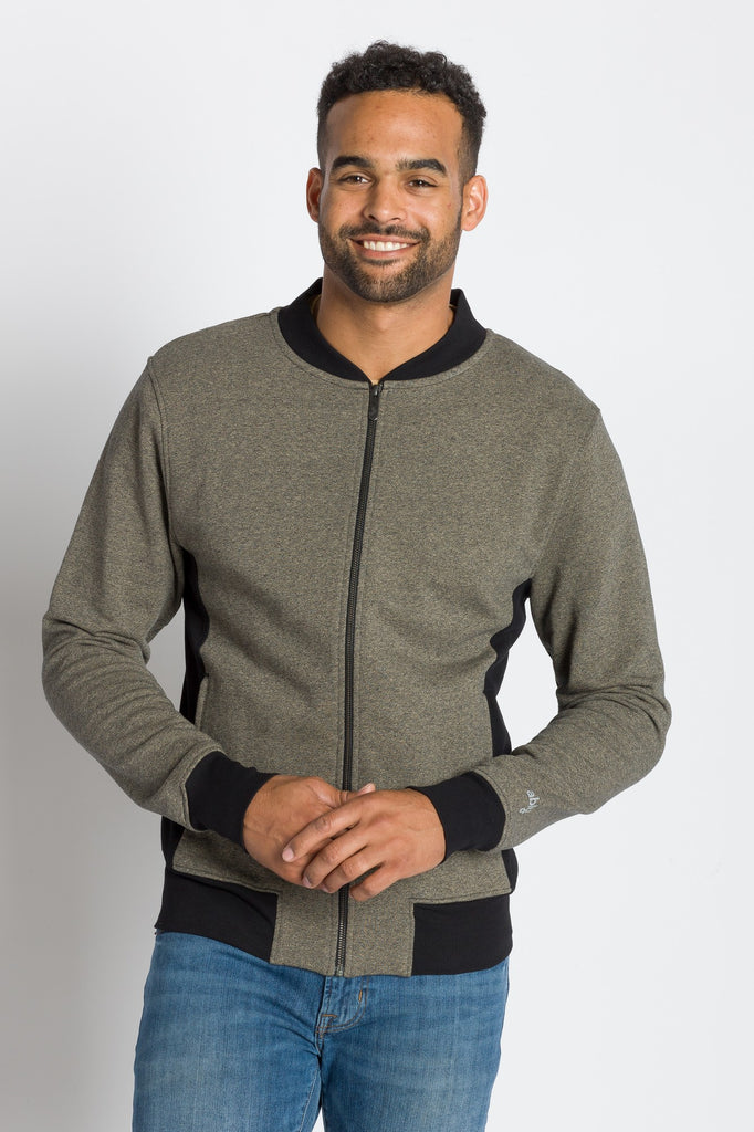 Michael | Men's Knit Grindle French Terry Jacket