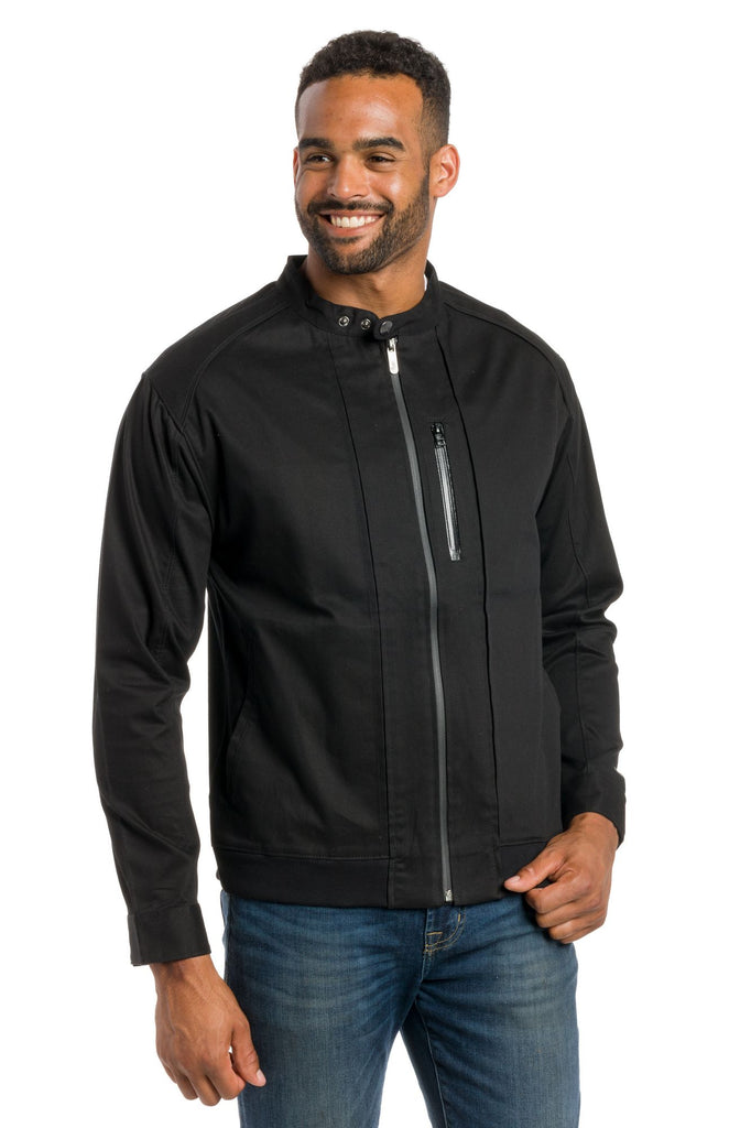 Bronte | Men's Fitted Bomber Cotton Jacket