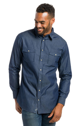 Evan | Denim Shirt