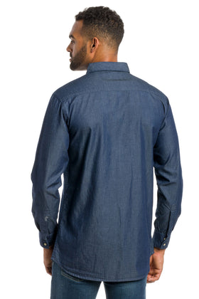 Evan | Men's Denim Shirt