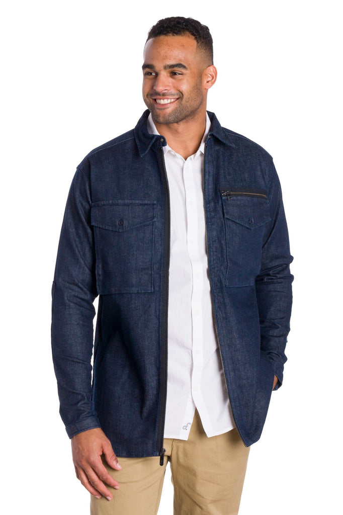 Liberty | Men's Heavy Denim Shirt Jacket