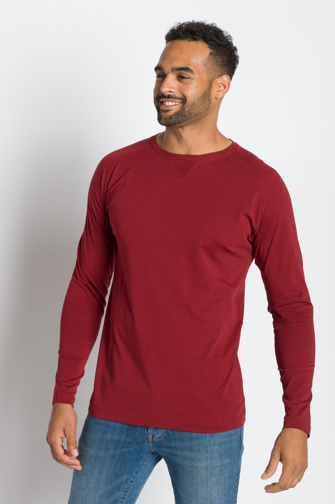 Papa | Men's Raglan Long Sleeve Tee