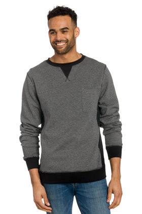 Deetz | Men's Plaited Sweatshirt